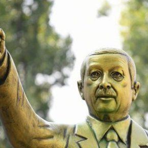 W Niemczech zlikwidowano pomnik Erdogana