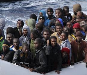 """Jak UE """"walczy"""" z masową, nielegalną imigracją"""