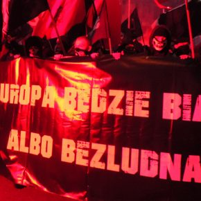 """Solidarność z Mateuszem Pławskim - """"atakowanym"""" rzecznikiem Młodzieży Wszechpolskiej"""