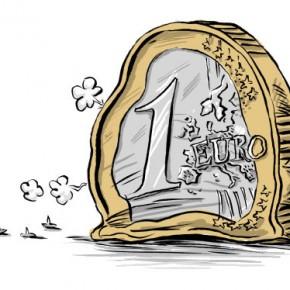Polacy negatywnie o euro