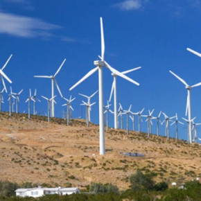 Rekordowa produkcja farm wiatrowych
