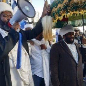 Etiopscy Żydzi przeciwko brutalności izraelskiej policji