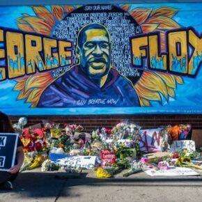 Biali ze specjalnymi wymogami w miejscu śmierci Floyda