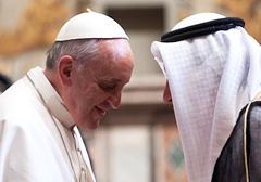 """Muzułmanie domagają się od papieża przyznania, że """"islam jest religią pokoju"""""""
