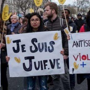"""We Francji protestowano przeciwko """"antysemityzmowi"""""""