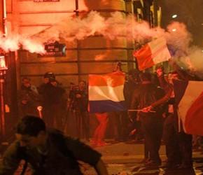 Młodzi Francuzi chętni do buntu