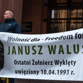 Warszawa: Zaproszenie na demonstrację solidarności z Januszem Walusiem - 11/12/2019