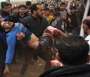 """Ofiary syjonistycznego ataku na """"Wielki Marsz Powrotny"""""""
