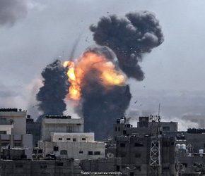 Zmasowany atak Izraela na Strefę Gazy