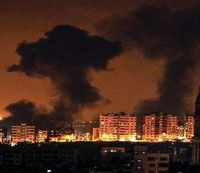Syjoniści znów ostrzeliwują Strefę Gazy