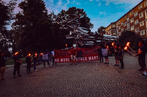 Gdańsk: Nacjonaliści przeciwko bratnim wojnom