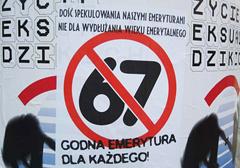 Polacy zainteresowani obniżeniem wieku emerytalnego, ale nie JOW-ami