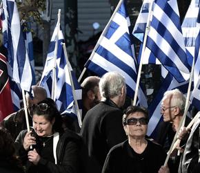 Złoty Świt trzecią siłą polityczną Grecji