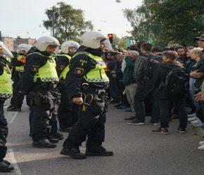 """Somalijski terrorysta wśród """"antyfaszystowskich"""" demonstrantów"""