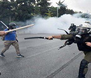Grecja: Zamieszki przeciwko porozumieniu z Macedonią (+WIDEO)