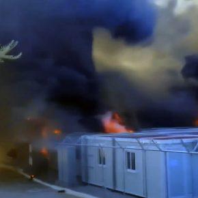 Grecja: Imigranci znowu podpalili swój obóz