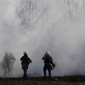 Grecka granica zaatakowana gazem łzawiącym