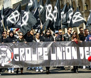 Francuscy nacjonaliści z GUD solidarni z Ukrainą