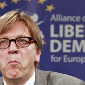 Verhofstadt dostrzegł kryzys Unii Europejskiej