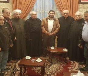 Hezbollah odwiedził chrześcijańskich duchownych