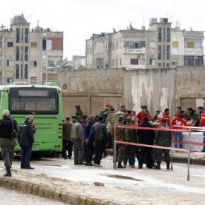 """Syria: Ostatni """"rebelianci"""" opuszczają miasto Hims"""