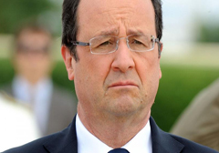 Socjalistyczny prezydent Francji krytykowany przez feministki