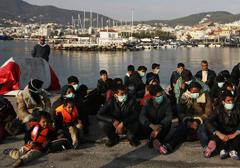 Greckie służby ostrzegają przed epidemią cholery na obleganej przez imigrantów wyspie Kos
