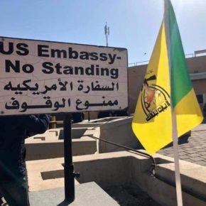 Demonstranci wdarli się na teren ambasady USA (+WIDEO)