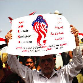 Irak wyrzuca amerykańskich żołnierzy