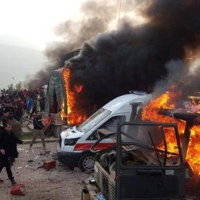 W Iraku szturmowano turecką bazę