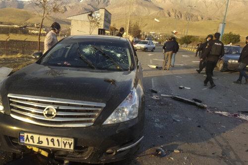 Iran odpowie na zabójstwo naukowca