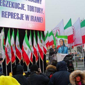 W Warszawie protestowali irańscy komuniści