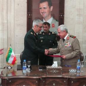 Syria i Iran zawarły porozumienie wojskowe