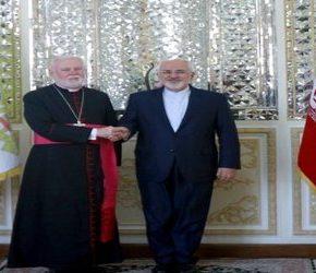 Szefowie dyplomacji Iranu i Watykanu spotkali się w Teheranie