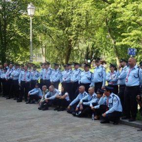 Izraelscy policjanci w Kielcach