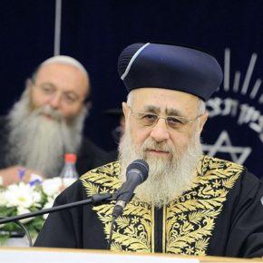 Naczelny rabin odmawia żydowskości imigrantom z Rosji
