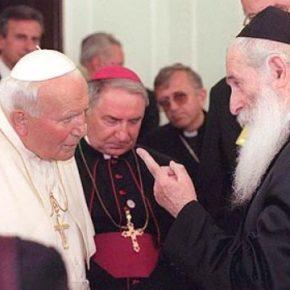 Rabin Schudrich chwali Jana Pawła II