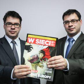 Prorządowi dziennikarze okładają się Misiewiczem i Macierewiczem