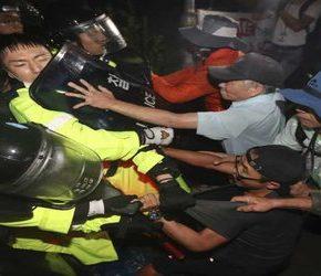 Korea Południowa: Protesty przeciwko amerykańskim instalacjom