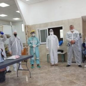 Izrael zamknął palestyńskie laboratorium z testami na koronawirusa