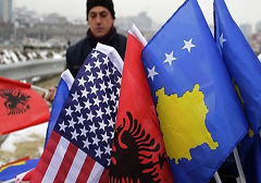 kosovo-usa-albania