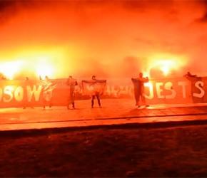 """Wideo-zaproszenie na demonstrację """"Kosowo jest serbskie"""" w Warszawie"""