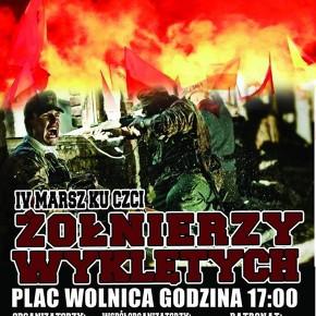 Zaproszenie: Marsz pamięci Żołnierzy Wyklętych w Krakowie (28.02.2015)