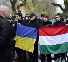 Ukraina: Nacjonaliści z Karpackiej Siczy bronią mniejszości węgierskiej