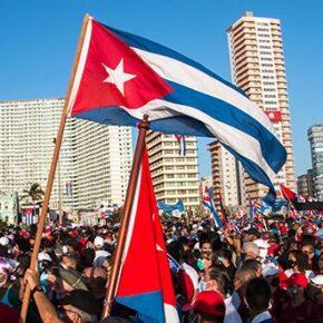W Hawanie zebrali się zwolennicy rewolucji kubańskiej