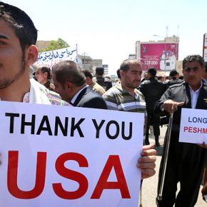 Kurdowie wydobywają ropę dla Amerykanów