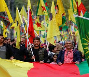Zachodnia lewica solidaryzuje się z Kurdami