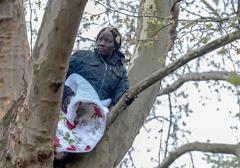 """Niemcy: obywatelka Sudanu zamieszkała na drzewie w proteście przeciwko """"kolonialnym metodom"""""""