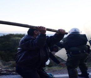 Grecy walczą przeciwko ośrodkom dla imigrantów (+WIDEO)