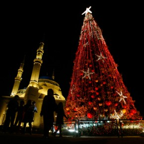 Hezbollah zorganizował chrześcijańskie obchody Bożego Narodzenia
